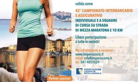 A Imperia la mezza maratona di fine estate