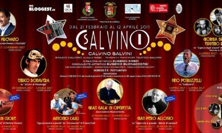 Calvino-Salvini: 8 appuntamenti per far rivivere il teatro a Imperia