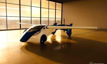 Un'auto volante atterrerà a Top Marques 2015
