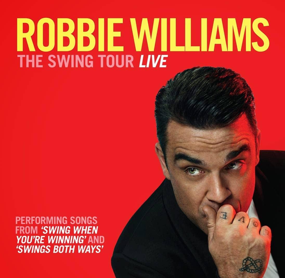In occasione del suo tour europeo «Swings Both Ways Live», Robbie Williams sarà di scena a Monaco, allo Sporting Monte-Carlo, il prossimo 31 maggio