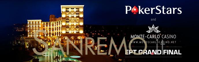 Gran finale Ept di Poker Stars a Montecarlo