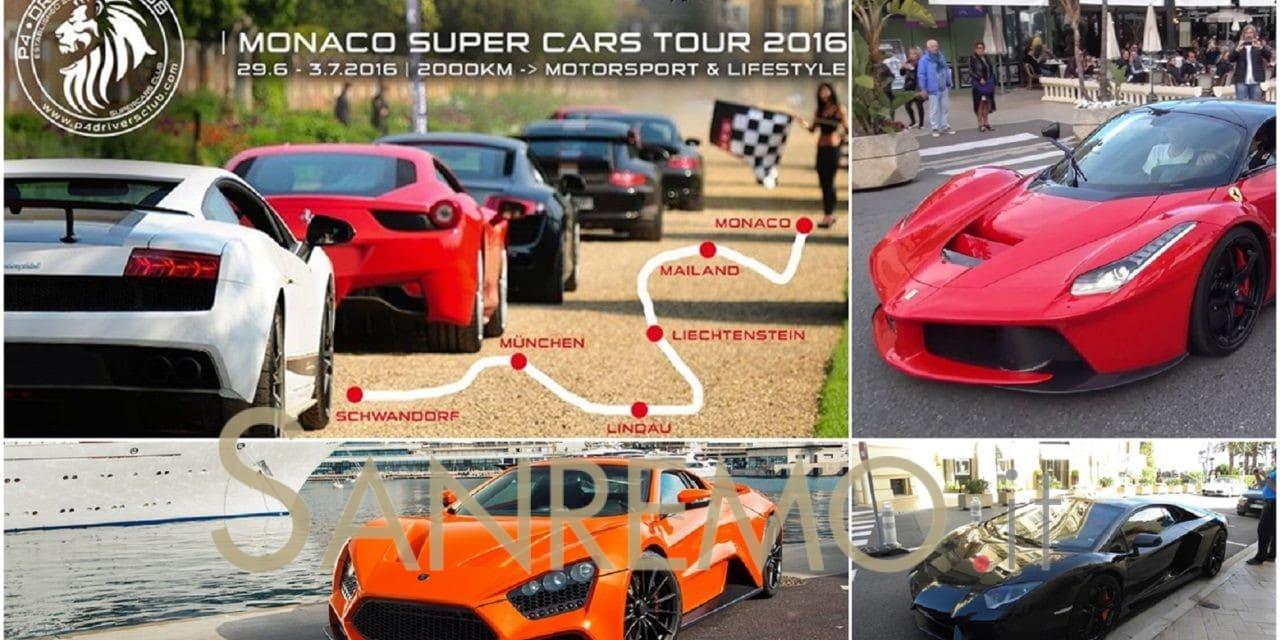 """A Montecarlo l'arrivo della """"Super Cars Tour 2016"""""""