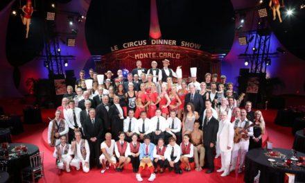 Cena e intrattenimento al Monte-Carlo Circus Dinner Show
