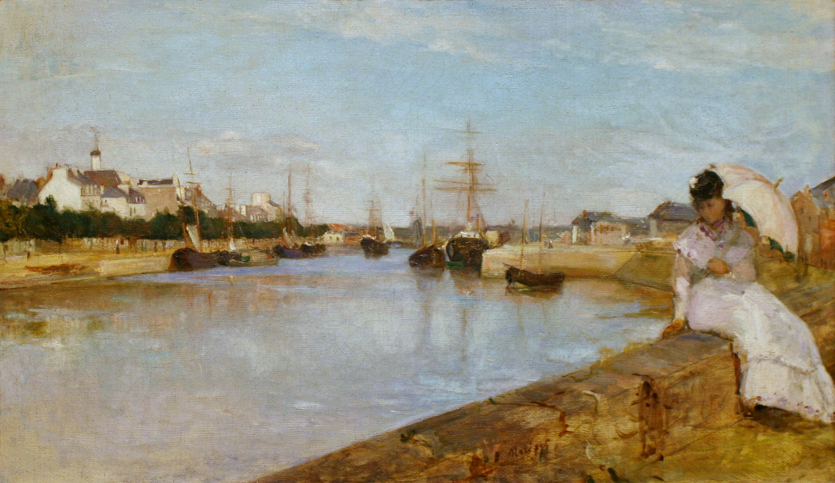 """Il 15 ottobre alle ore 10 due conferenze di Vu pas Vu: """"Femminile singolare Berthe Morisot et Nice"""" e """"Femminile plurale: donne pittrici e l'impressionismo"""""""