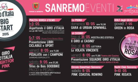 """La Riviera """"in rosa"""" per il Giro d'Italia"""