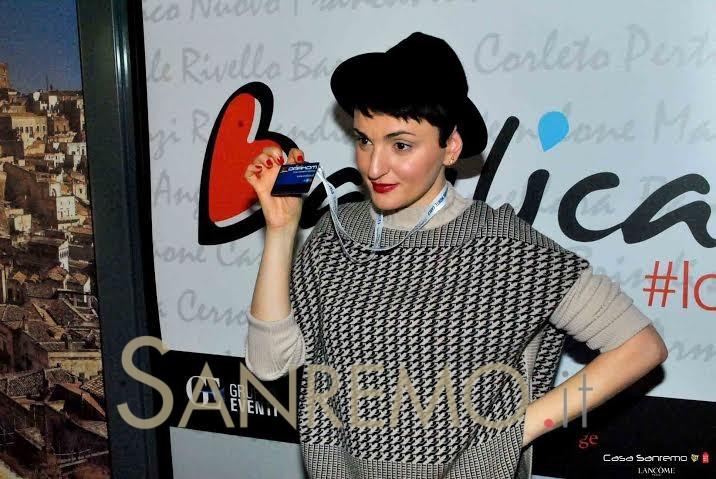 Arisa in visita a Casa Sanremo