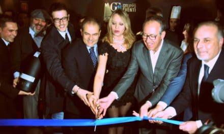 Inaugurata Casa Sanremo con Anna Falchi