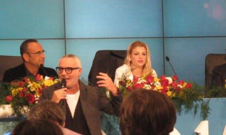 Sorpresa di Giorgio Panariello in sala stampa