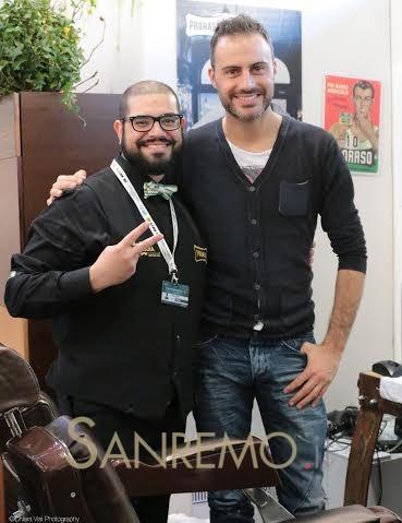 """""""Mi faccia la barba"""" Tanti vip nell'area riservata di Casa Sanremo"""