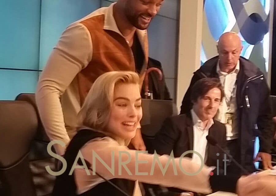 Will Smith a Sanremo