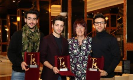 """Al trio """"Il Volo"""" tre leoncini rampanti da Sanremo"""