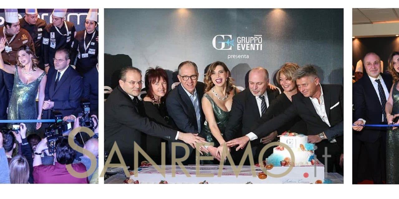 Veronica maya taglia il nastro a Casa Sanremo, inaugurato l'hospitality al Palafiori