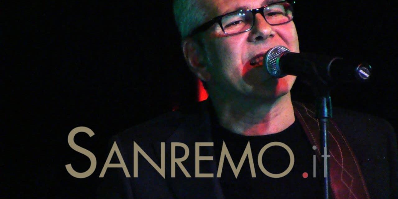 Michele Zarrillo ospite di Jazz&Remo sul palco dell'Ariston