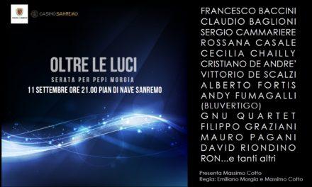 OLTRE LE LUCI: a Sanremo un concerto per Pepi Morgia