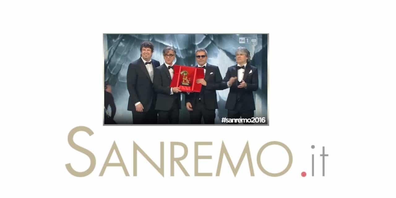 Gli Stadio vincono il 66° Festival di Sanremo