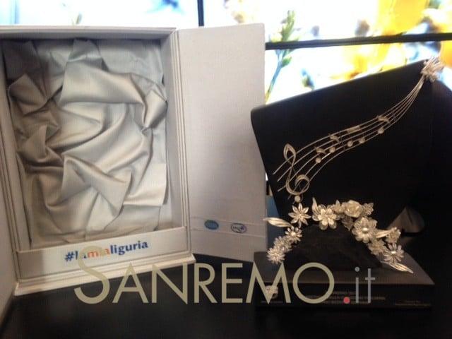 """Il premio """"Artigiani di Liguria"""" al vincitore della sezione giovani al Festival di Sanremo"""