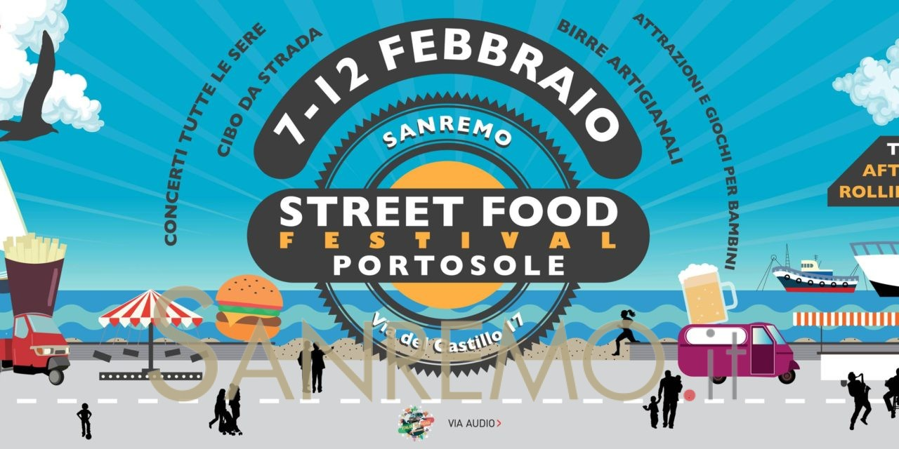 Portosole Street Food Festival: dal 7 al 12 febbraio il cibo da strada è protagonista
