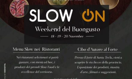 Slow On: a Sanremo il weekend del buongusto