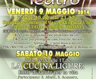 Vini in Teatro a Sanremo
