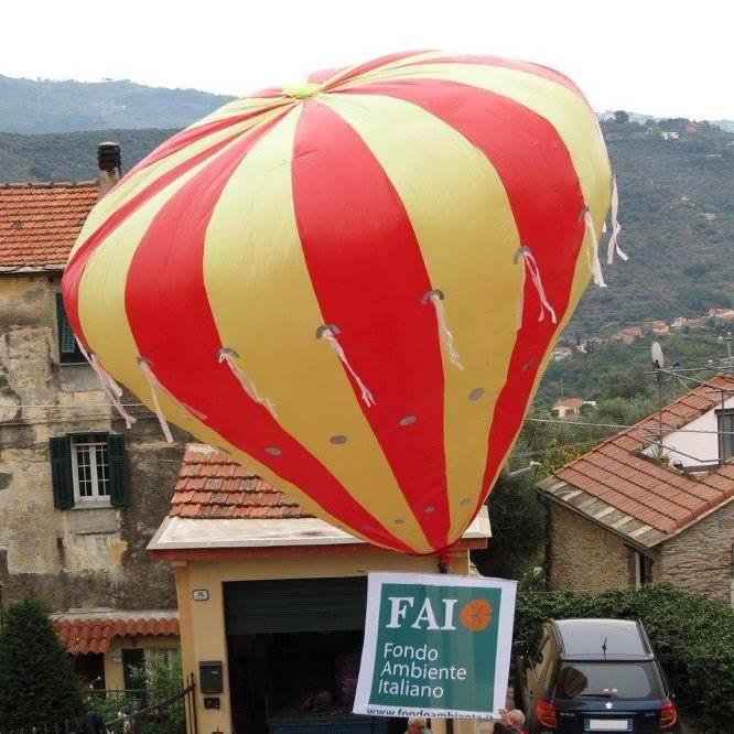 Inaugura il 18 giugno il nuovo percorso turistico tra Valloria, paese delle porte dipinte, e Bellissimi, la frazione di Dolcedo nota per le mongolfiere di carta
