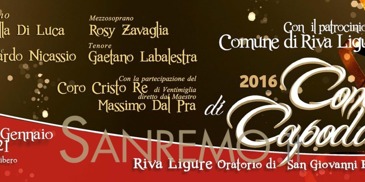 Grande concerto di Capodanno a Riva Ligure