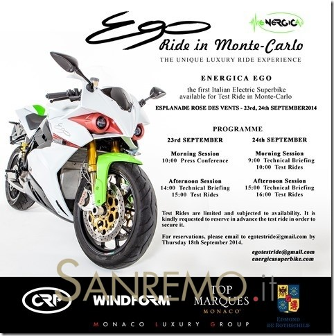 The Unconventional Luxury of Energica Ego 45 in Monte-Carlo