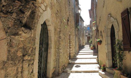 Il borgo di Sainte Agnès