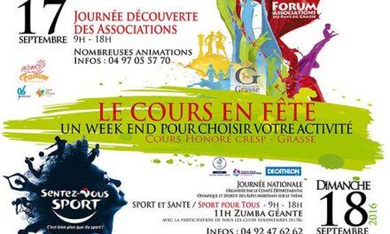 """Torna """"Le Cours en Fête"""" a Grasse il 17 e 18 settembre"""