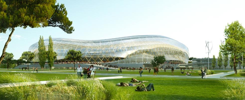 NIZZA presenta il suo nuovo eco-stadio!