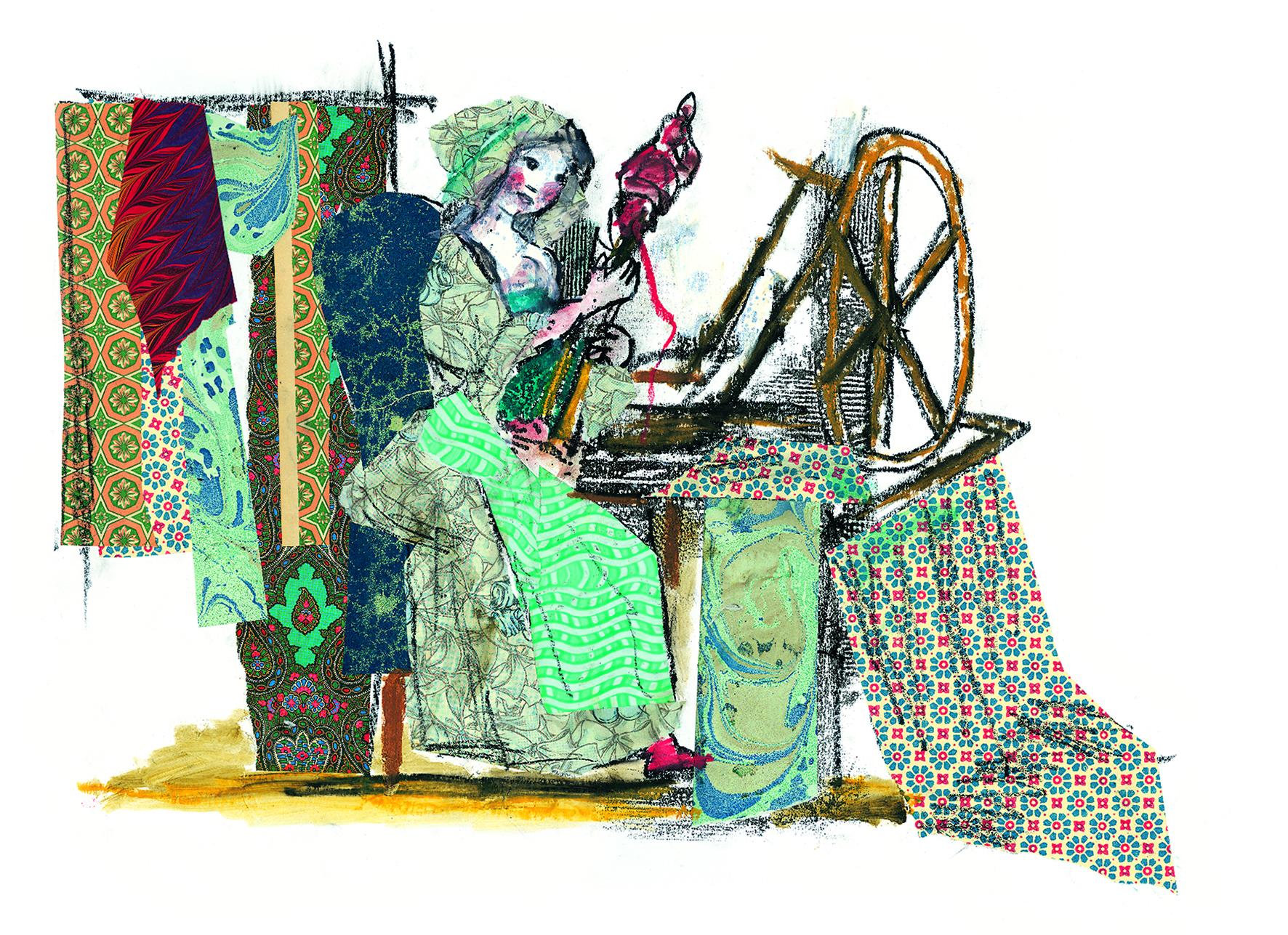 Fino al 30 novembre la mostra dell'illustratore genovese al Museo dell'Olivo di Imperia. Esposte 15 tavole originali