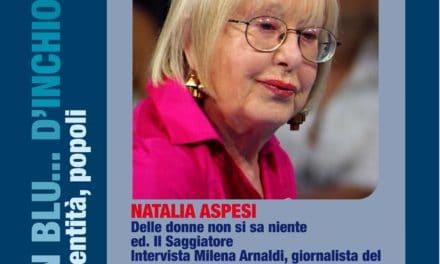 Natalia Aspesi ospite a Cervo sabato 14 gennaio