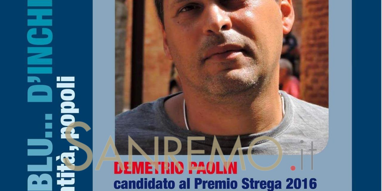 "Demetrio Paolin protagonista a ""Cervo in blu…d'inchiostro"" il 20 gennaio"