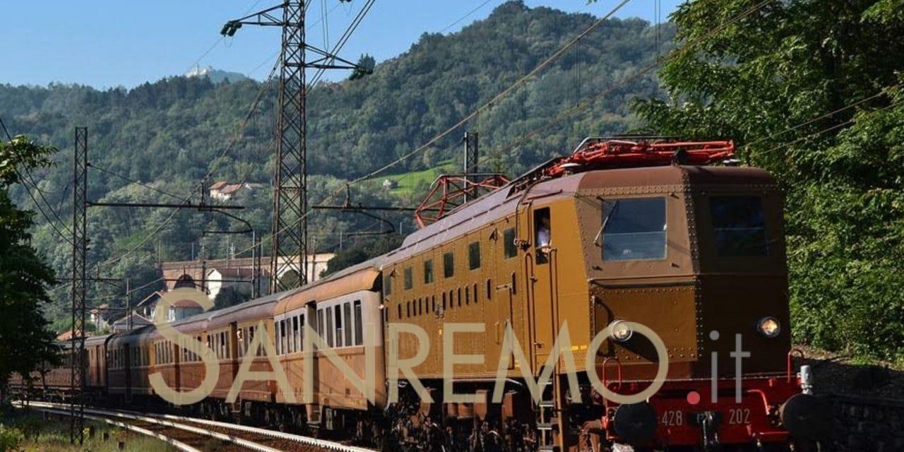 Un viaggio sul treno storico per salutare la vecchia tratta ferroviaria tra San Lorenzo e Andora