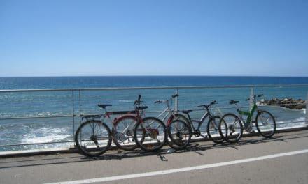 Area 24 ha realizzato nel Parco Costiero del Ponente Ligure la pista ciclabile più bella e profumata d'Europa