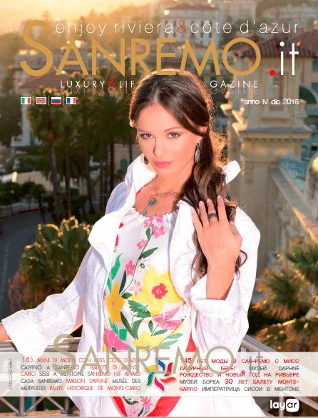 145 anni di moda a Sanremo con Miss Cote d'Azur