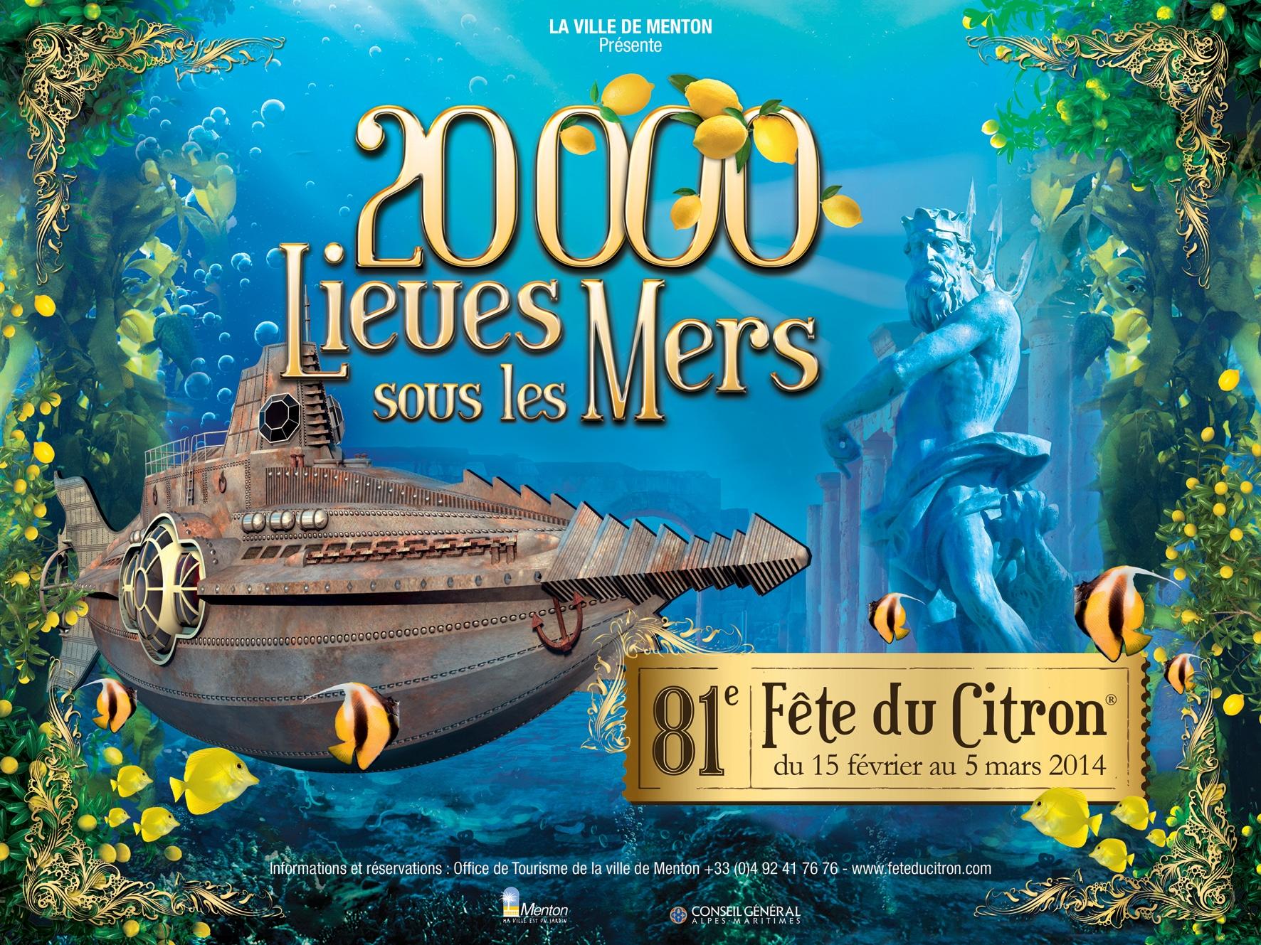 Da semplice esposizione di agrumi creata nel 1933 a manifestazione di fama internazionale, la Fête du Citron® oggi attira quasi 160.000 visitatori.