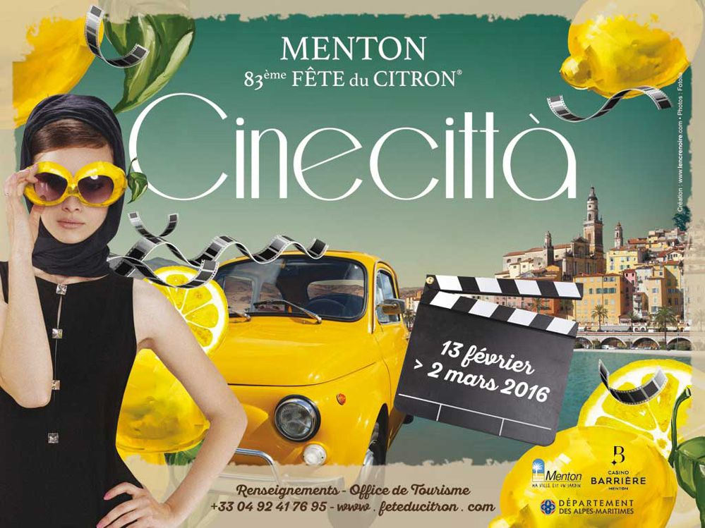 A Mentone, dal 13 febbraio al 2 marzo, sfilate ed eventi dedicati ai capolavori del cinema italiano