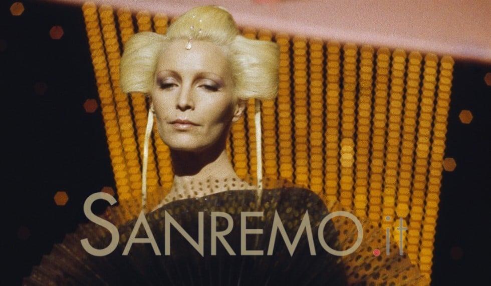 Patty Pravo torna a Sanremo il 3 giugno