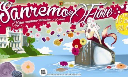 Sanremo in fiore: «BUON COMPLEANNO TELEVISIONE: I 60 ANNI»
