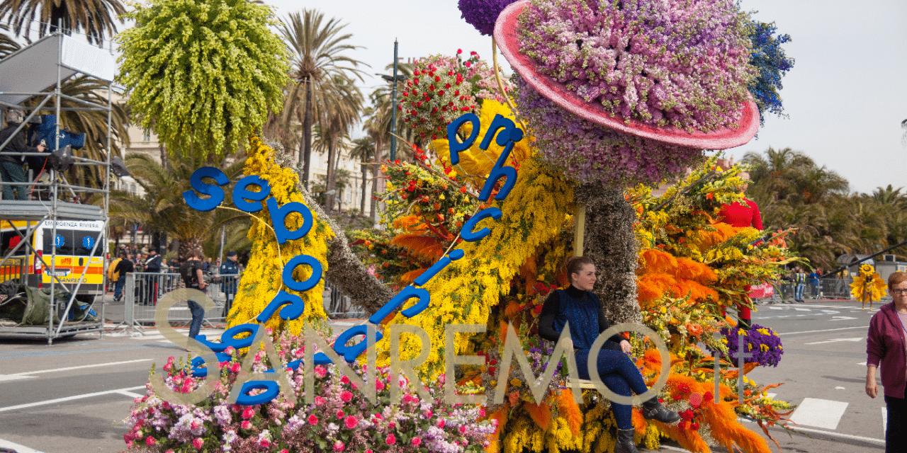 A Sanremo tornano a sfilare i carri fioriti domenica 8 marzo