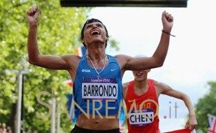 Il campione olimpico Barrondo vince il Peace and Sport Image of the Year Award