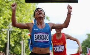 Il campione olimpico Barrondo vince il Peace and Sport Image of the Year Award