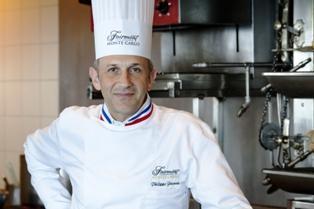 Uno chef Chevalier e star televisiva al Fairmont Monte Carlo