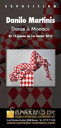 Una nuova esposizione alla galleria Carré Doré di Monaco