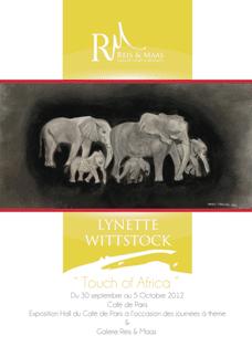 Una mostra d'arte dai colori del Sud Africa