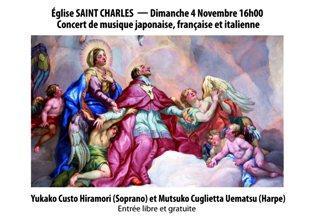 Un bel concerto per la soprano Yukako a Monaco