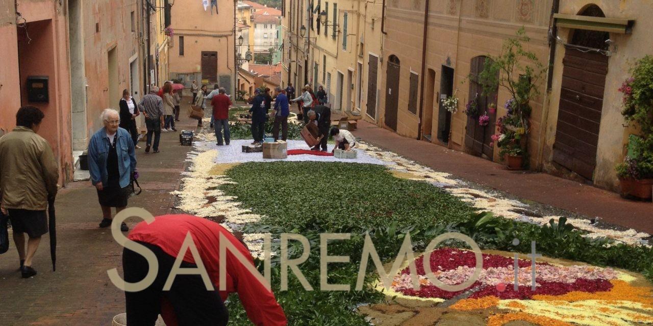 """Ritorna l'""""infiorata"""" in Via Carducci a Imperia"""