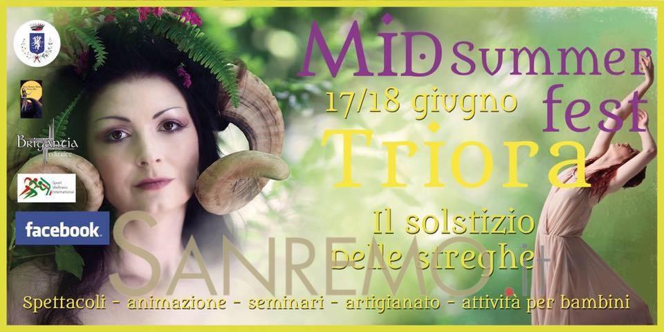 MidSummer Fest: a Triora si festeggia il solstizio d'estate