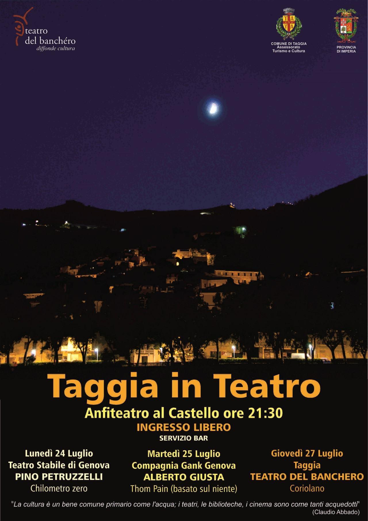 """Apre la rassegna """"Chilometro zero"""" di Pino Petruzzelli, all'Anfiteatro al Castello"""