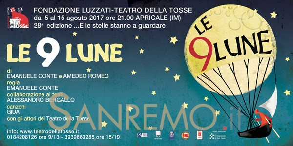 """""""Le 9 lune"""": La Tosse torna ad Apricale"""